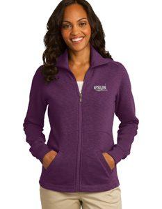 Port Authority Ladies Slub Fleece Jacket