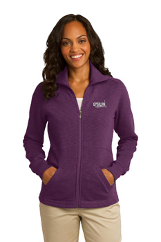 Port Authority Ladies Slub Fleece Jacket