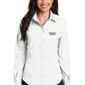Epsilon Port Authority Ladies Non-Iron Twill Shirt