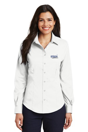 Epsilon Port Authority Ladies Non-Iron Twill Shirt