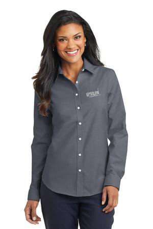 Epsilon Port Authority Ladies SuperPro Oxford Shirt