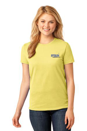 Epsilon Port & Company Ladies Core Cotton Tee